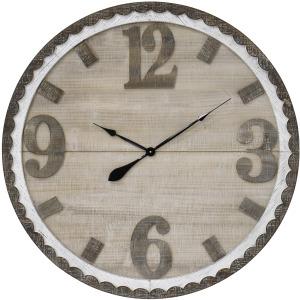 Ticking Time Wood Wall Clock
