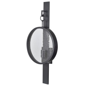 """Saxon """"Port Hole"""" Fixtured Wall Sconce"""