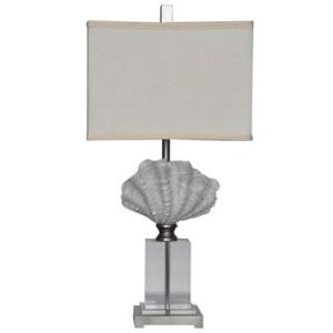 """Crystal Beach Table Lamp 28.5""""ht"""
