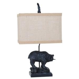 Fishing Bear Table Lamp