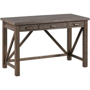 Pembroke Plantation Recycled Pine Tavern Finish 3 Drawer Accent Desk