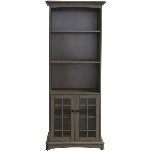 Acacia 2 Door, 3 Shelf Bookcase