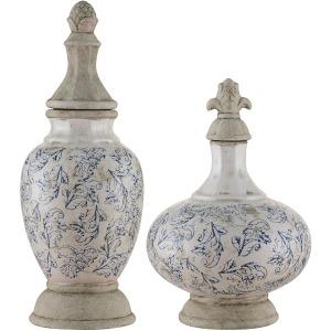 Hammet Lidded Vases