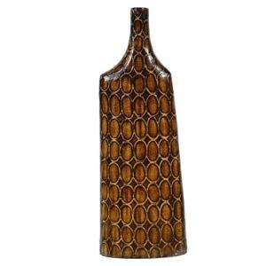 """8.5"""" X 4.1"""" X 24.2""""h Ceramic Vase,"""