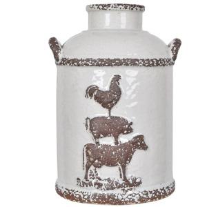 Small Farmhouse Churn Jar