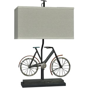Biking Table Lamp