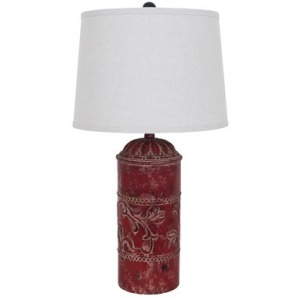 Country Store Table Lamp