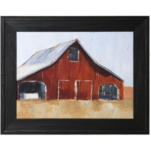 Rustic Red Barn I Wall Art