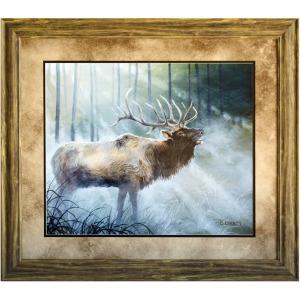 Elk Journey 3 Framed Art