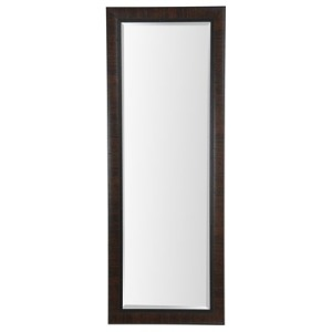 24x64 Dark Walnut Framed Mirror