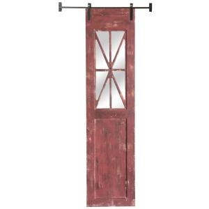 Red Rustic Decorative Barn Door