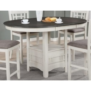 Hartwell Counter Height Dining Table - Chalk Grey