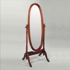 "Cherry Cheval Mirror 59.5""h"