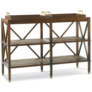 Tiered Tray Console