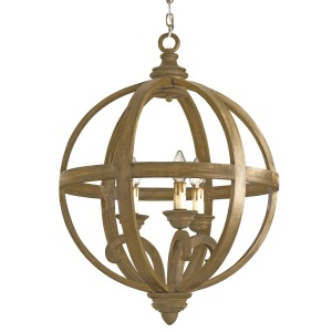 Axel Orb Chandelier, Small