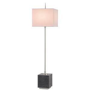 Thompson Console Lamp, Nickel