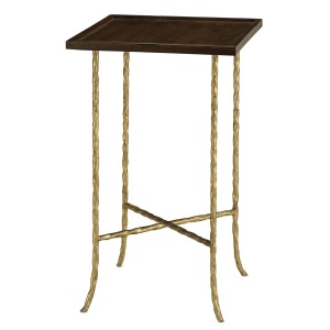 Gilt Twist Square Table