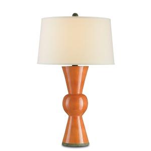 Upbeat Table Lamp, Orange