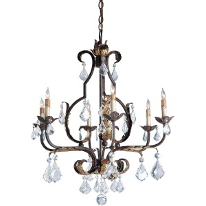 Tuscan Chandelier, Large
