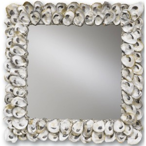 Oyster Shell Mirror, Square
