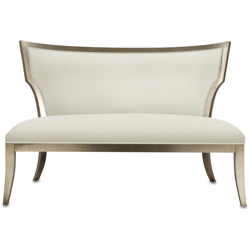 Admirable Garbo Settee By Currey And Company 7014 Willis Furniture Bralicious Painted Fabric Chair Ideas Braliciousco