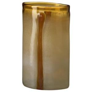Large Cream/Cognac Vase