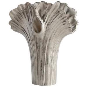 Large Alloy Palm Vase