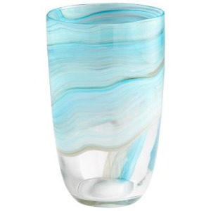 Medium Sky Swirl Vase