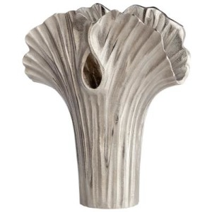 Small Alloy Palm Vase
