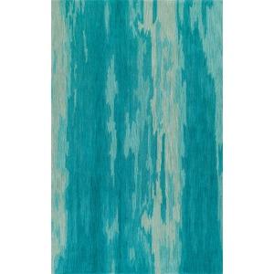 """Delmar Aqua Rug 5' x 7'6"""""""
