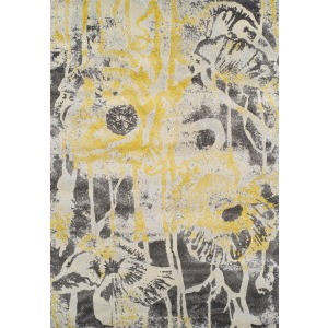 "Modern Greys Lemon Rug 7'10"" x 10'7"""
