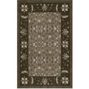 Tribeca Chocolate Rug - 5' x 7'6""