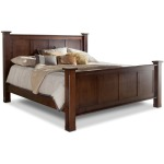 Treasure King Bed w/ Std. Height Footboard