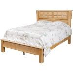 Arts & Crafts Queen Bed w/ Low Footboard