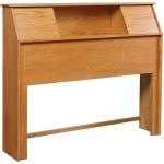 Simplicity Queen Bookcase Headboard w/ Sliders