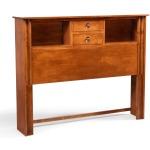 Cosmopolitan Queen 2-Drawer Bookcase Headboard