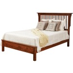 Lewiston Queen Slat Bed w/Low Footboard