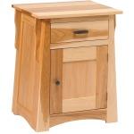 Arts & Crafts 1-Drawer 1-Door Nightstand