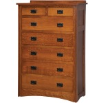 Mission 7-Drawer Chest