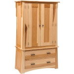 Arts & Crafts 2-Door 2-Drawer Armoire