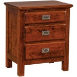 Lewiston 3-Drawer Nightstand