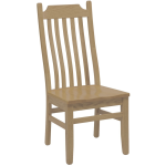 Shaker Lumbar Side Chair