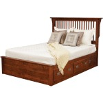 Lewiston Queen Slat Bed w/ 2 30
