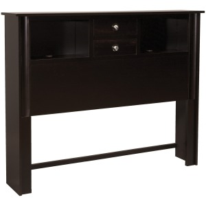 Cosmopolitan Queen 2-Drawer Bookcase Headboard