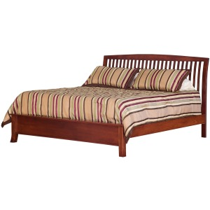 Holmes King Bed with Low Footboard