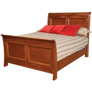 Classic Queen Sleigh Bed w/Standard Footboard