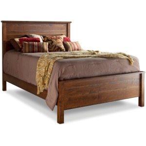 Lewiston Queen Panel Bed w/Low Footboard