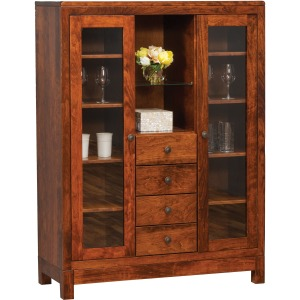Kingsdale 4-Drawer China Cabinet