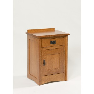 Mission 1-Drawer 1-Door Nightstand