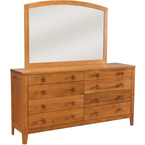 Nouveau 8-Drawer Double Dresser